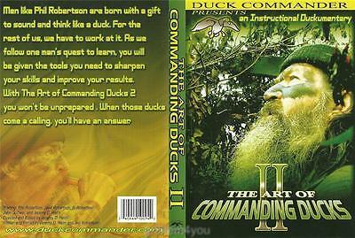Duck Commander Art of Commanding Ducks II Hunting Duck Dynasty DVD NEW