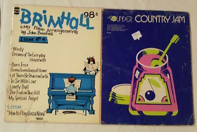 BRIMHALL EASY PIANO & SOUNDER COUNTRY JAM
