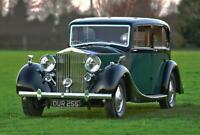 1938 Rolls-Royce Phantom 3 Windovers Limousine