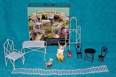 Fairy Garden Miniatures Kit Set House Outdoor Decor Ornaments Accessories 14 pcs ()