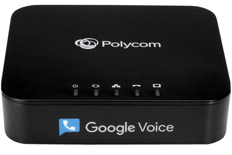 Obitalk Obi212 Polycom universal voice adapter, Google voice FXS Phone and FXO