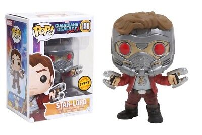 Funko Pop Guardians of the Galaxy Vol.2: Star-Lord CHASE LIMITED EDITION #12784](Starlord Guardians Of The Galaxy)