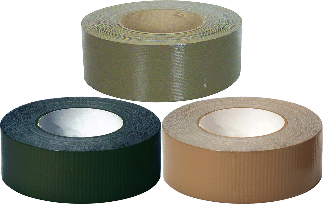 100 MPH Tape Roll 2″ x 60 Yards Self-Clinging USA Made Camouflage Military Tape Adhesives & Tape