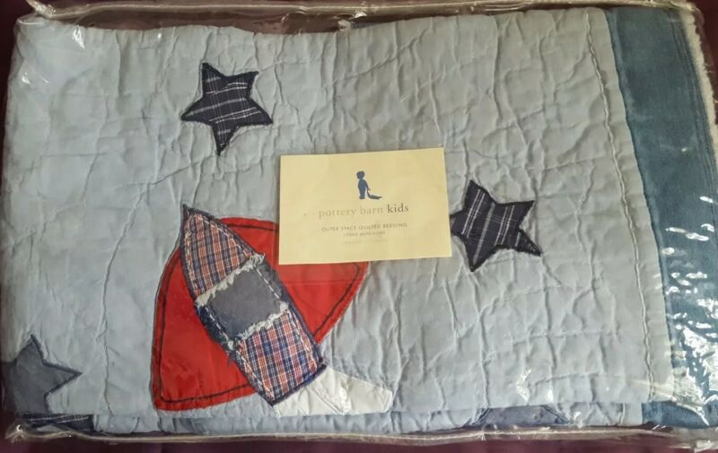 Pottery Barn Kids SPACE CRIB  QUILT
