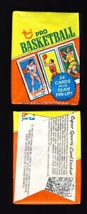 1980-81 Topps Basketball Wax Pack ★FRESH FROM BOX★ possible BIRD/MAGIC/ERVING RC