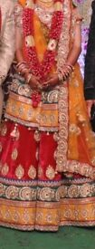 Asian wedding dress/ lehenga for bride-to cut the stereotype