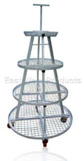 CIRCULAR 4 TIER PLANT DISPLAY STAND Brookvale Manly Area Preview