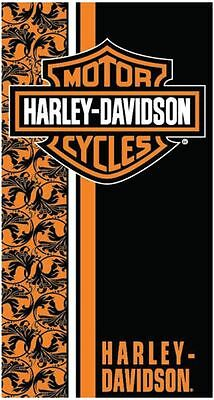 Harley Davidson Flowers Velour Beach/Bath Towel FULLY LICENSED!!!! (30x60)