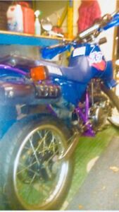 1995 Yamaha XT 350 like new with low low kms....