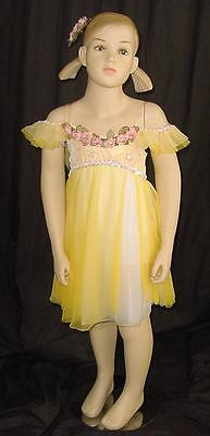 New Yellow Lyrical Ballet Dance Costume Dress Buttercup Yellow Size 4 Child](Buttercup Outfit)