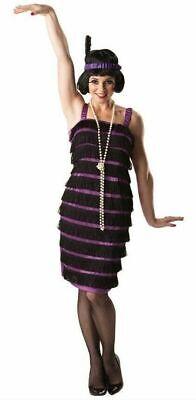 Rubies Flapper 1920's Womens Fancy Dress Costume Ladies UK 8-10 NO