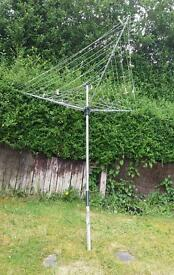 Rotary airer clothes dryer