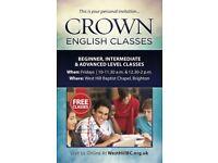 FREE English Class in Brighton