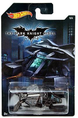 2015 Hot Wheels Batman Series #5 Batman The Dark Knight Rises The