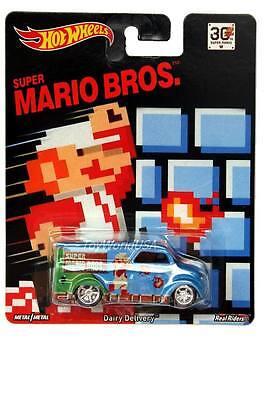 2015 Hot Wheels 30th Anniversary Super Mario Bros. Dairy Delivery