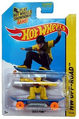 2014 Hot Wheels #123 HW Off-Road HW Daredevils Skate Punk