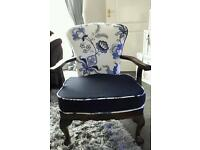 upholstered ercol chair