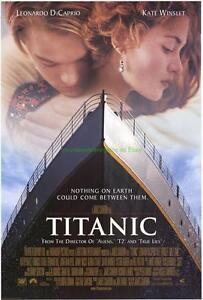 TITANIC MOVIE POSTER ORIGINAL 2S STYLE A INTERNATIONAL