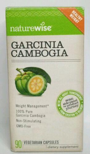 NatureWise Pure Garcinia Cambogia,100% Natural HCA Extract S
