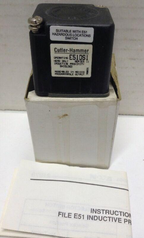 Cutler-Hammer E51DS1 Inductive Proximity Head