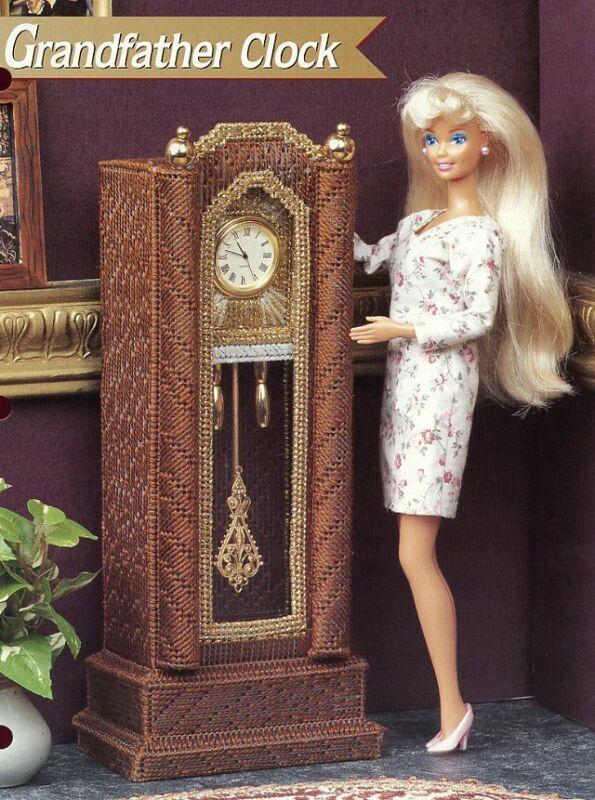 Grandfather Clock fits Barbie Dolls Annie