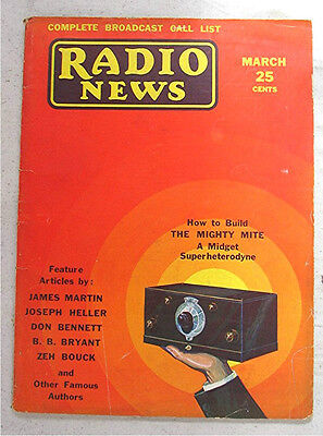 Vintage 1931 Magazine --- Radio News
