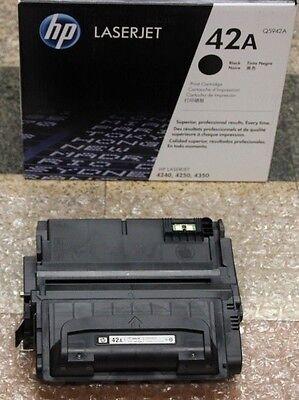 GENUINE NEW  HP Q5942A 42A laserjet TONER CARTRIDGE 4240/4250/4350