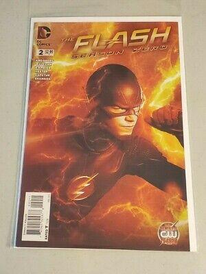 The Flash Season Zero #2 Variation NM or better CW TV SERIES (Best Comic Tv Series)