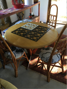 Gorgeous Retro table and chairs Fremantle Fremantle Area Preview
