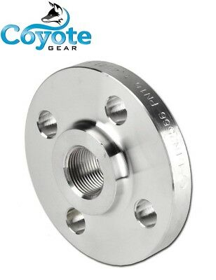 34 Pipe Thread Raised Face Flange 304 Stainless Steel Class 150 Coyote Gear