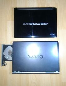 SONY VAIO , ACER Aspire One , SAMSUNG . all 10 inch - spares / repairs