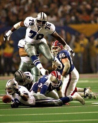 LEON LETT 8X10 PHOTO DALLAS COWBOYS PICTURE NFL FOOTBALL