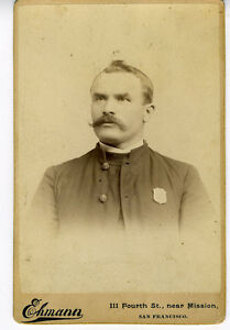 1880s-Cabinet-Card-Photo-of-Stern-Salvation-Army-Officer-w-Badge-San-Francisco