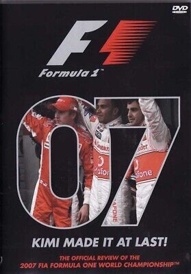 F1 FORMULA F 1 2007 07 ENTIRE SEASON REVIEW 3+ HRS R2 DVD KIMI MADE IT AT LAST for sale  United Kingdom