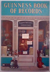 Guinness Book of Records - 1972 Hardback Vintage