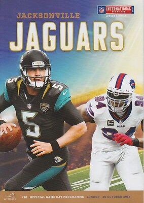 BUFFALO BILLS v JACKSONVILLE JAGUARS NFL WEMBLEY STADIUM 2015