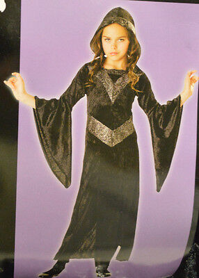 Girl's Totally Ghoul Sorceress Witch Outfit Halloween Costume Girl's Size Large](Sorceress Outfit)