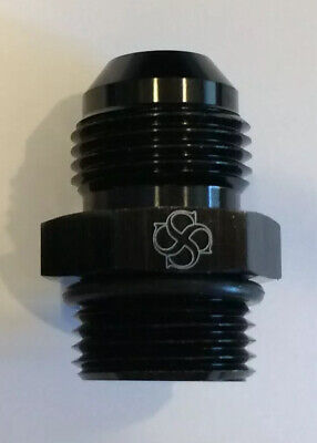 X805 -8AN Flare to -8 ORB O Ring Boss Adapter AN Fitting ORB BLACK 8 Orb