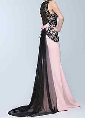 Kleid, Abendkleid, Damenkleid, Puder, Gr. 38, NEU mit Etikett