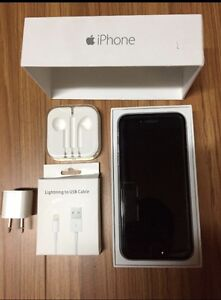 UNLOCKED iPhone 6- 16GB with Lifeproof Battery Charger Case
