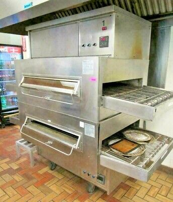 Middleby Marshall Ps360q Gas Conveyor Pizza Oven