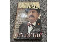 Rumpole on trial by John Mortimer Book