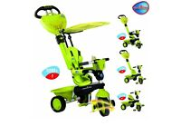 Smart Trike 4 in 1 lime green
