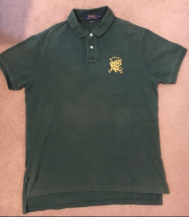 Shirt Green 100AuthenticIn Men Large Gumtree Lauren RedbridgeLondon Polo Size Ralph txdhrBQsC