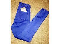 Vice Highwaisted Skinny Jeans.