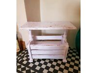 💖 Upcycled storage table