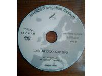 2017-2018 JAGUAR XK XF NAVIGATION EUROPE SAT NAV MAP DVD UPDATE DISC