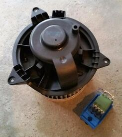 Ford Focus Heater Ventilation Blower Motor and Resistor Pack