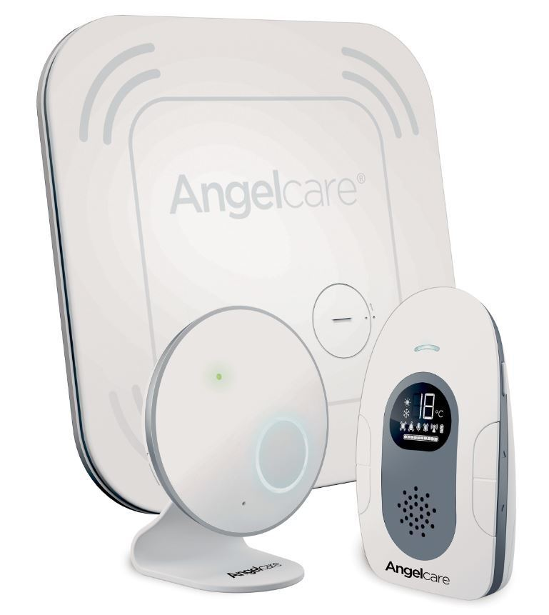 Angelcare Bewegungsmelder Atemüberwachung Babyphone mit Sensormatte AC 117-D