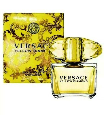 Versace Yellow Diamond EAU DE Toilette natural spray 3.0 oz 100ml for women